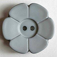 Dill boutons poly.pes. gris, délais 3semaine