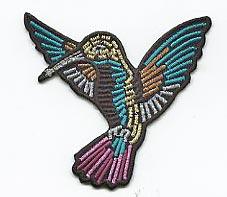 Vögel Applikation, Motive, Patches, bestickt, zum aufbügeln, waschbar