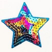 Sterne Applikation, Motive, Patches, bestickt, zum aufbügeln, waschbar