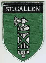 MOTIV WAPPEN 60X85MM ST.GALLEN.