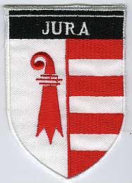 MOTIV WAPPEN 60X85MM JURA.