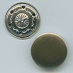 boutons métallliques