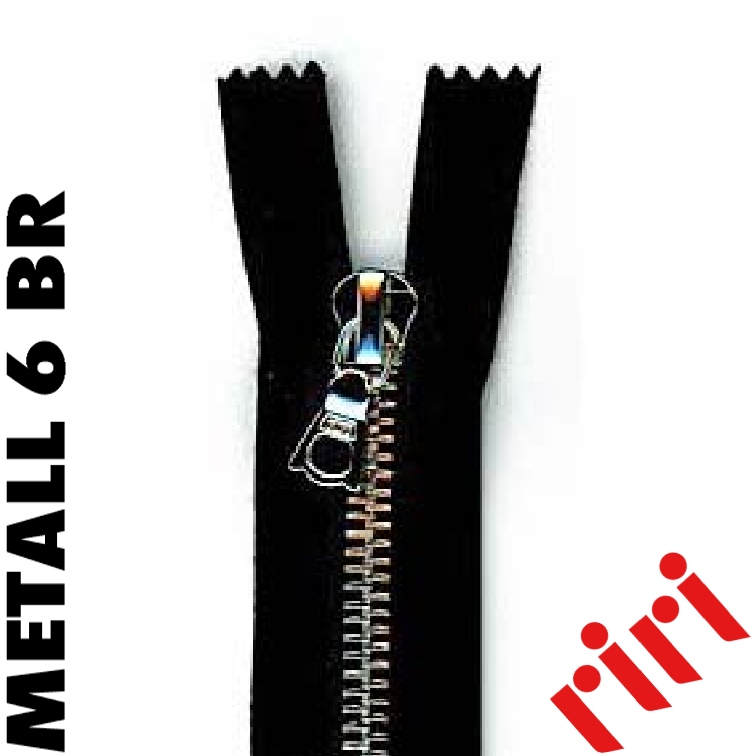 Metall 6 détachable vieil argent (BR) M6TBR