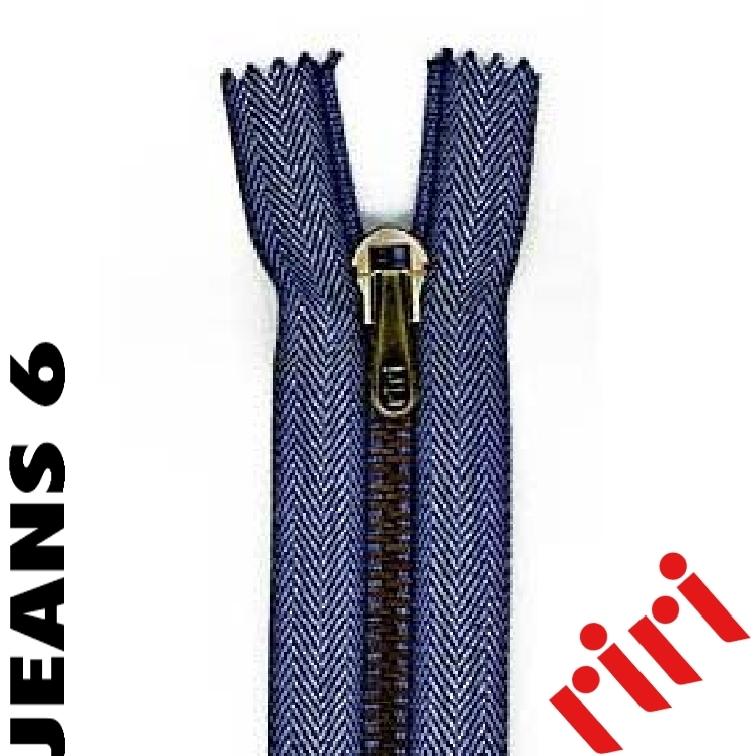 Riri Jeans Metall 6 geschlossen JEANS