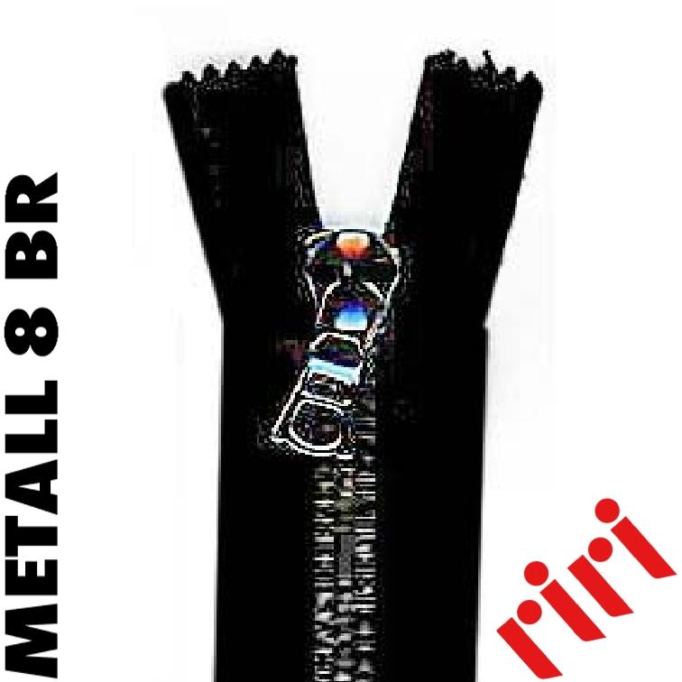 Metall 8 détachable vieil argent (BR) M8TBR