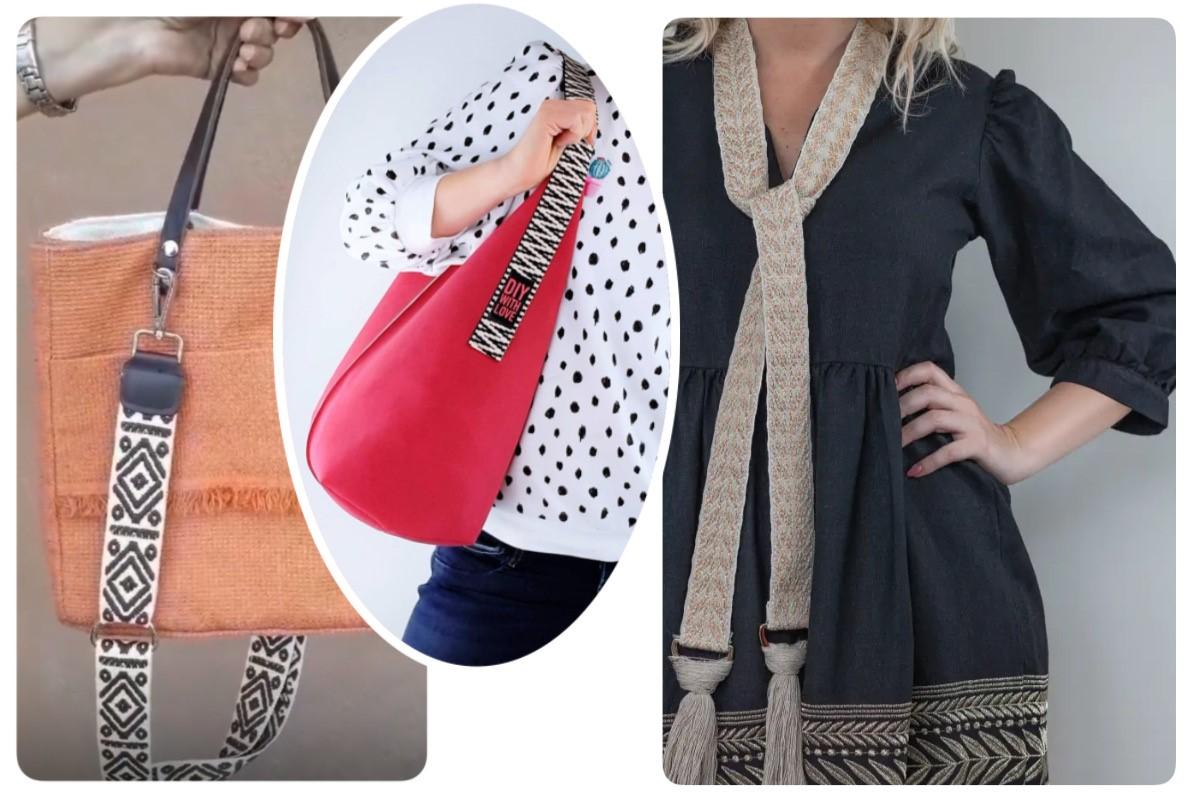Bords tricotés fashion
