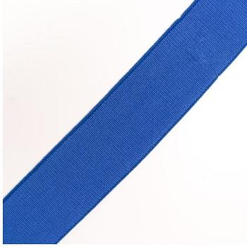 ELAST BAND RIPS-STREIFEN FEIN UNI 70% PES 30% EL 40MM BLAU, OEKOTEX Certified made in EU (kein Lagerartikel)