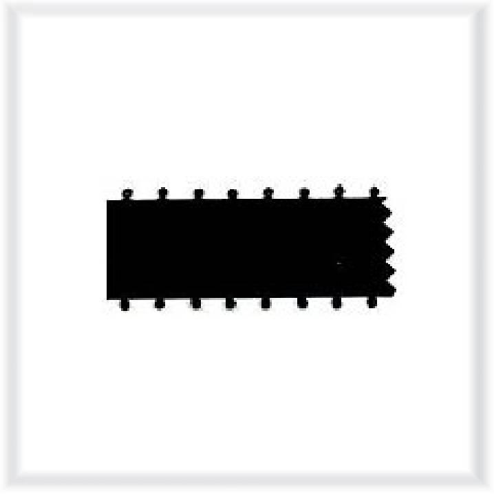 Satinband mit Picotkante 9mm, 16mm, 25mm, 50mm