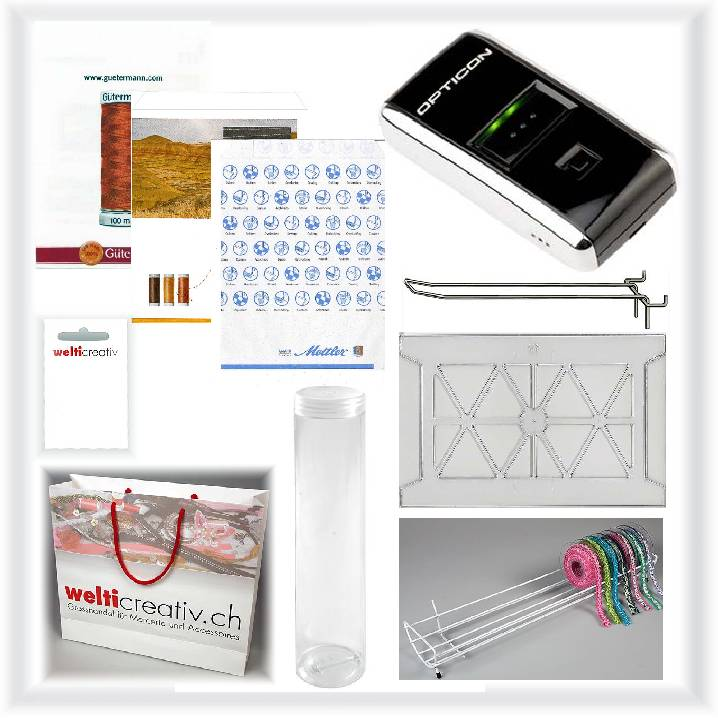 Scanner, Einrichtungs- Verpackungsmaterial