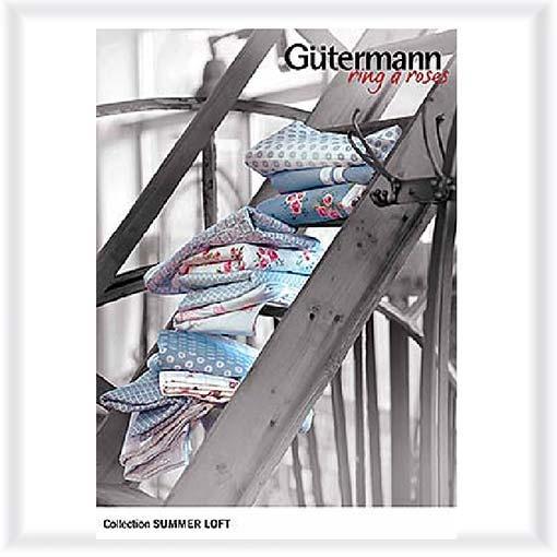 Gütermann Stoff Rolle Summer Loft 2013