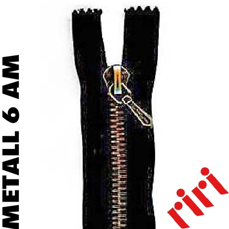 Metall 6 teilbar altmessing (AM) M6TAM