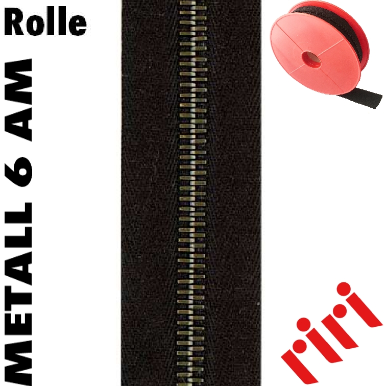 Metall 6 Rolle 5m altmes. (AM) M6M5AM