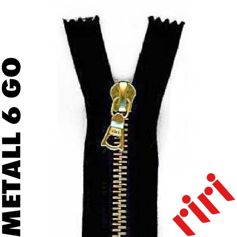 Metall 6 teilbar gold (GO) M6TGO
